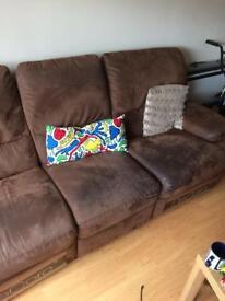 3 piece recliner sofa, suite