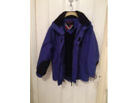 "Warm 'Trespass' Ski/Snowboarding Winter Jacket - excellent condition 46"" chest"