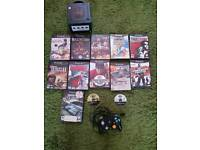 Nintendo gamecube with 13 games