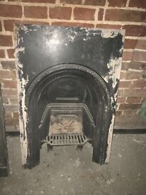 Old Victorian fire place
