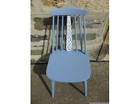 Hand Painted Custom Celtic Chair