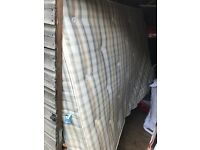 Selling double mattress in good condition due to moving.
