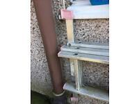 Large 3 x set Aluminium safety ladders