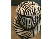 Miu Miu Zebra Hat
