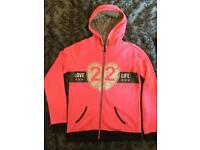 Girls/teens Very pink/glittery hoodie hooded top age 15-16