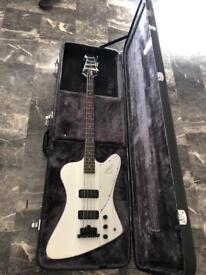 Epiphone Thunderbird IV Bass Guitar and Case
