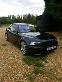 BMW M3 SMG convertible hard top black 2002 red leather interior