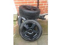 Alloy wheels 195/50/15