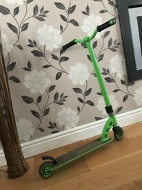 Green MGP stunt scooter, decent condition, RRP £100 looking for £30