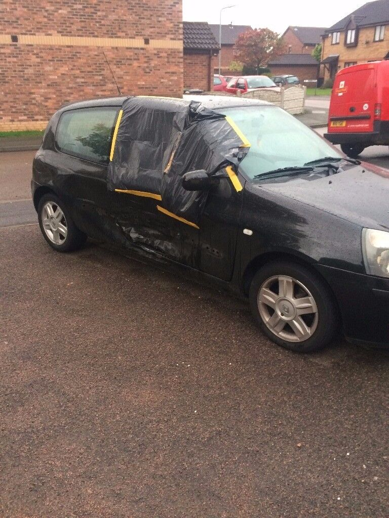 SPARES AND REPAIRS RENAULT CLIO 1.2 55 PLATE
