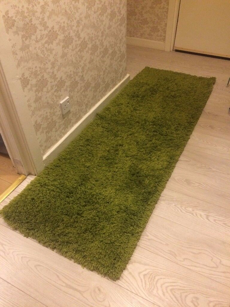 House Clearance Green Rug Look Like Grass Easy To Wash Clean And