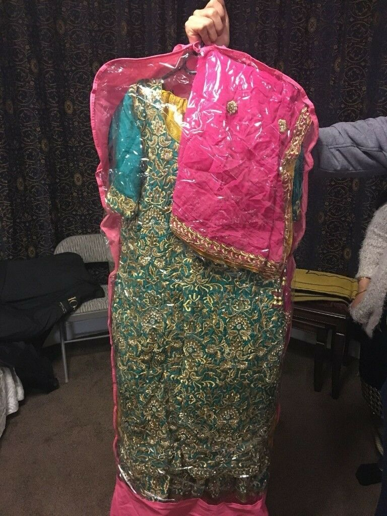 Exotic green wedding dress | in Luton, Bedfordshire | Gumtree
