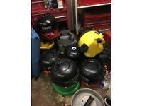 Henry hoover with pipes