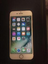 I phone 7 16gb white and rose gold