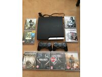 PlayStation 3 160GB 8 games £75