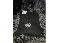 True Religion Sweater Jumper - Black SIZE Medium