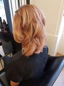 Mobile and salon hairdresser who listens! 13 years experience at a time to suit you