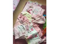 Babies r us sugar & spice nursery set including curtains and bedding