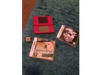Nintendo DSi in Hot Pink with games