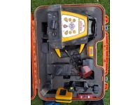 Self levelling rotary laser level