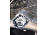 Vespa gts 300cc Touring grey
