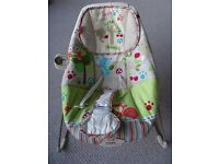 Very Good Condition Fisher-Price Woodsy Friends Baby Bouncer