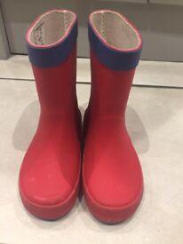 Children's Next Wellington Boots - Size 7