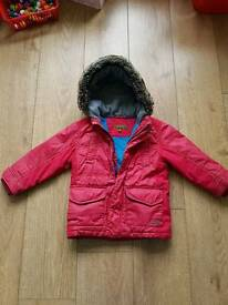 Boys Ted Baker Coat 3-4 yrs