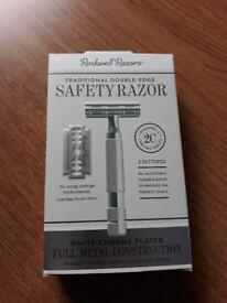 Rockwell 2C DE Safety Razor