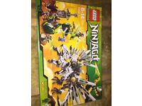 Lego 9450 Ninjago Epic Dragon Battle Brand New Retired Set