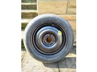 Space Saver Wheel & Tyre (Ford Focus 2002)
