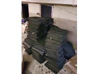 Approx 1100 Blue Carpet tiles - Free to Uplift - From ex snooker hall