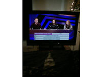 "Sony 32"" Freeview AND Satellite Tuners Plasma/Smart TV"