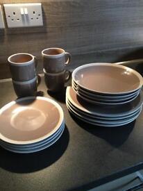Marks and Spencer's dinner set.