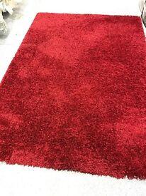 Large fluffy rug brand new