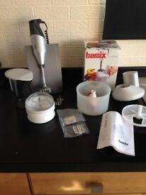 Bamix Blender / Grinder / Beaker and Slicesy Set - never used - Happisburgh collect