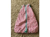 Baby sleeping bags - 0-6 months, 2.5 tog