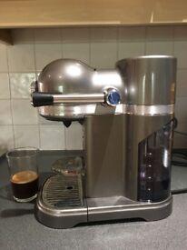 Nespresso Kitchenaid Artisan coffee machine + Prepara carousel