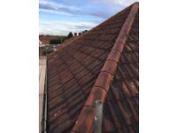 Clay Double Roman Roof Tiles