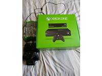 Xbox One 500GB with Kinect, Games and 2 Controllers