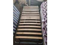 Single guest bed folding with Mattress