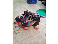 Size 2 kids roller skates