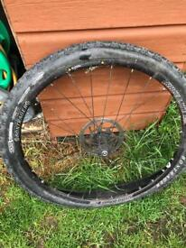 """26"""" race light mountain bike front wheel with disc"""