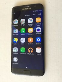 NEW BOXED 32GB Samsung Galaxy S7 edge,UNLOCKED,WIRELESS CHARGER,under warranty,BLACK color
