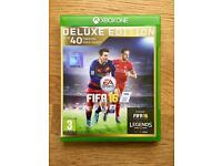 Fifa 16 Deluxe Edition: XBox One Video Game