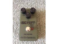 Electro Harmonix Green Russian Big Muff Fuzz pedal