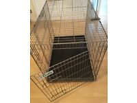 Excellent Condition Crufts 1105 Large Foldaway Dog Crate (Official Kennel Club Product)