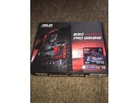 Asus B150- Pro Gaming used