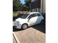 Fiat 500 pop white