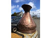 4 gallon antique copper jug